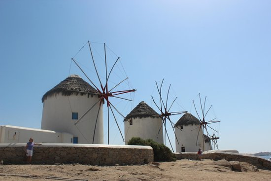 The Windmills (Kato Milli): Moinhos de Vento