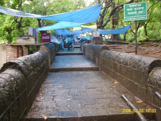 Elephanta Caves: Steps up to the Caves