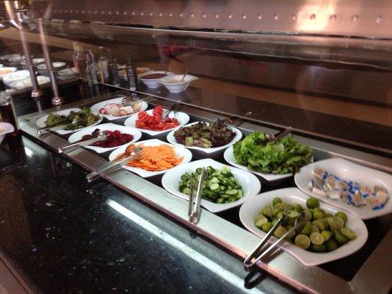 Sea Club Aqua Park : Salad