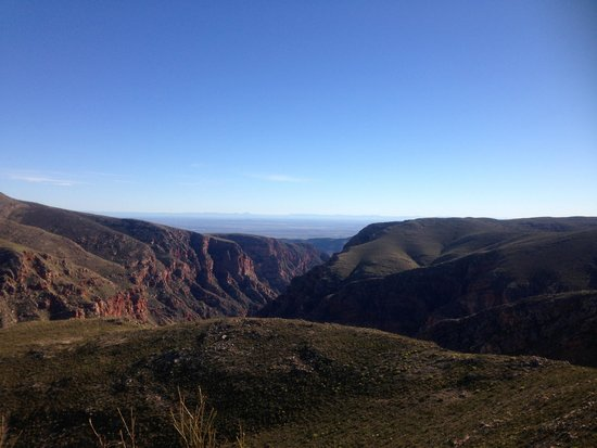 Swartberg Pass: View from the top
