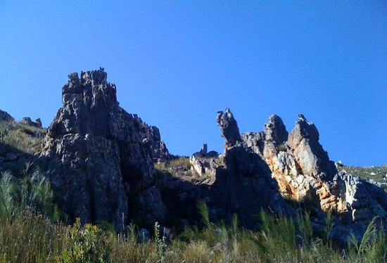 Swartberg Pass: Rock formations