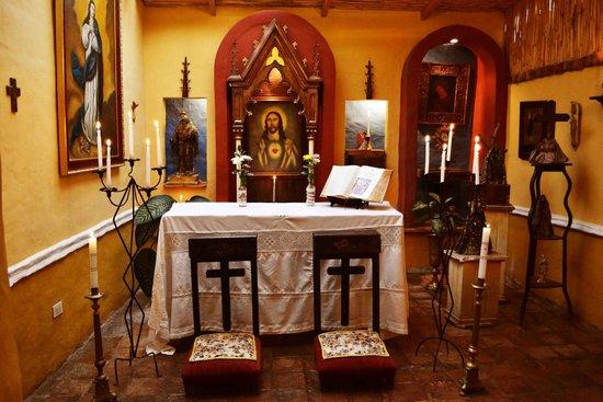 Hotel La Posada de San Antonio: oratorio