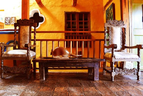 Hotel La Posada de San Antonio: zona social