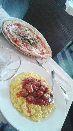 Damimo : Pranzo y pizza caprichosa