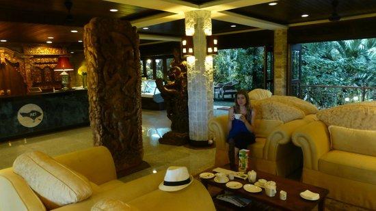 Ayung Resort Ubud: Le petit salon (pour le thé)
