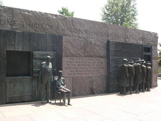 Franklin Delano Roosevelt Memorial: Roosevelt Memorial