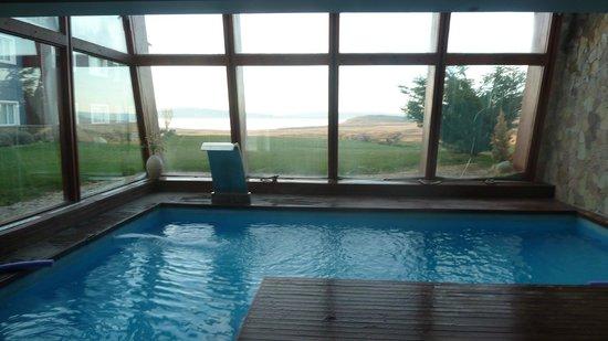 Alto Calafate Hotel Patagonico: primera piscina mas chica