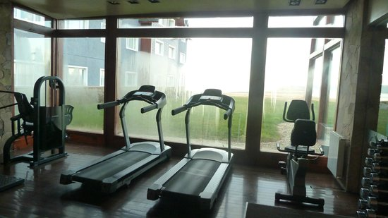 Alto Calafate Hotel Patagonico: gimnasio