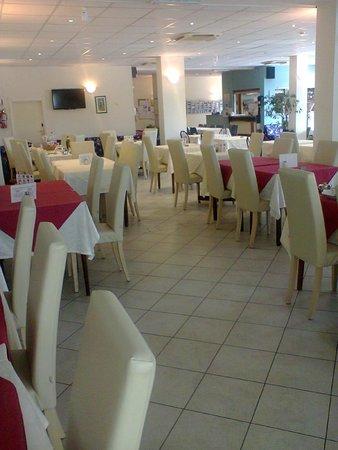 Hotel Delle Mimose: sala pranzo