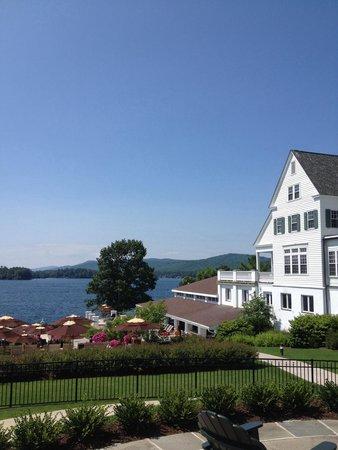 The Sagamore Resort: Beautiful View of Lake George