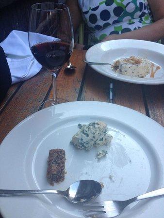 Brasserie Harkema : Dessert bluecheese + vijgen + pineau de charentes