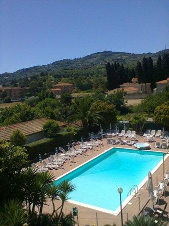 Hotel Delle Mimose : Panorama dalla camera