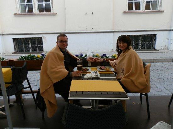 Estonian Dining Room: Мы с женой
