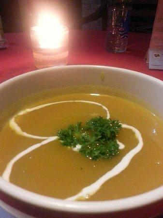 Gayatri Cafe: Pumpkin soup