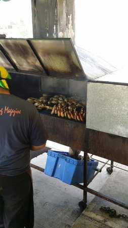 Ferron's Jerk Chicken: Grill...