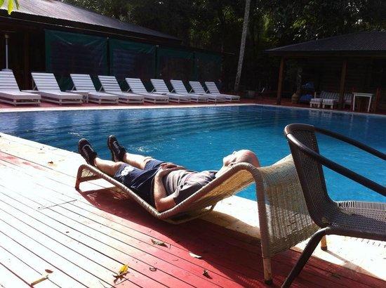 La Cantera Jungle Lodge: piscina