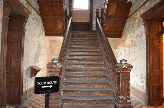Ohio State Reformatory: Creepy stair case....