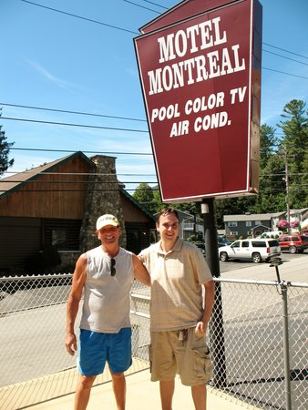 Motel Montreal : Rob & I