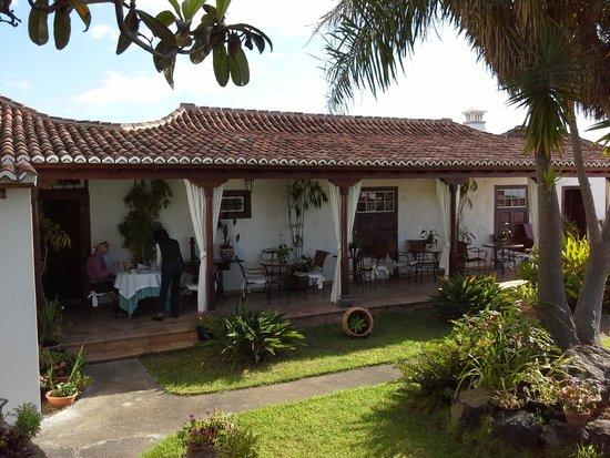 Hotel Finca Arminda : Aquí tomamos el famoso desayuno de Doña Arminda
