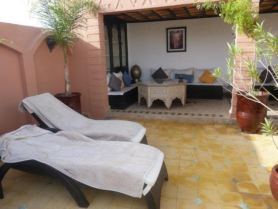 Riad Lena & SPA: terrasse