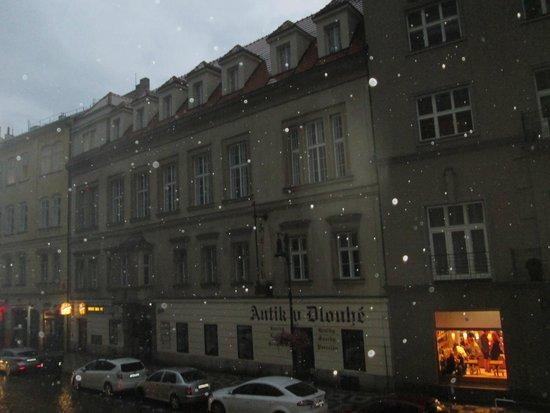 Residence Bene : вид из окна номера