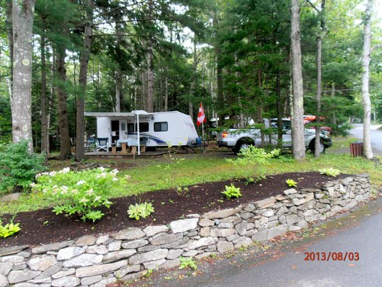 Shore Hills Campground: Installation