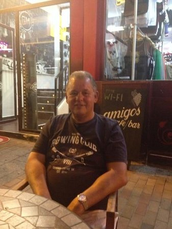 Amigos Restaurant and Roof Terrace: Another good night at the Original Amigos