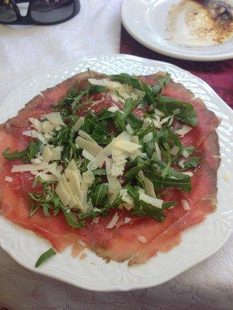 Al Vaticano : Carpacio salad was spectacular