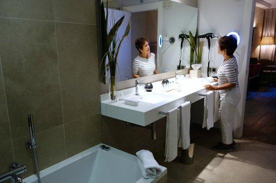 Grand Hotel Don Gregorio: bathroom
