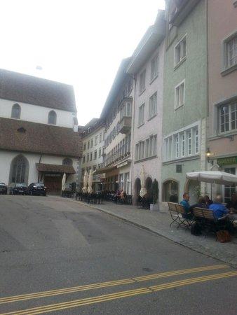 Hotel Kronenhof: Hotel entrance
