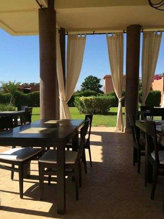 Le Domaine de L'Ourika: Dining area