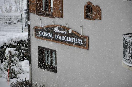 Lagrange Prestige Le Cristal d'Argentière : вид из номера