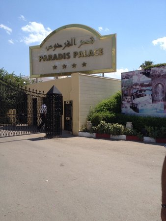 Hotel Paradis Palace : Hotel Front