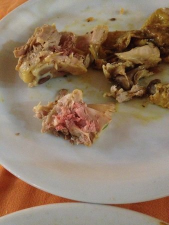 Hotel Paradis Palace : Raw Poultry