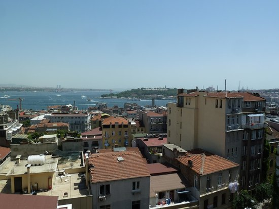 Georges Hotel Galata: View from room
