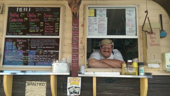 Tepee Pete's Chow Wagon: Pete