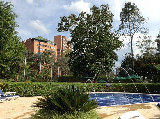 InterContinental Medellin: Zona Humeda