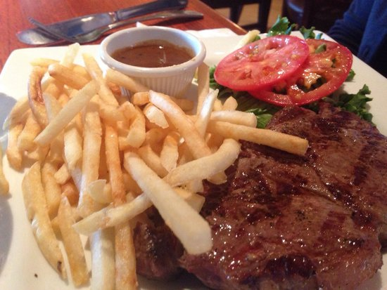 Patrick's French Bakery & Cafe: Steak and Frites