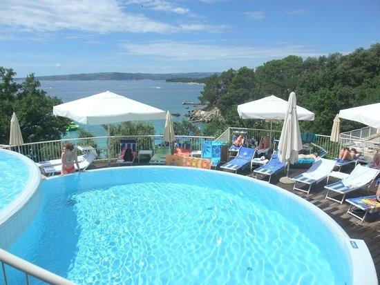 Valamar Koralj Romantic Hotel : One of the 3 pools