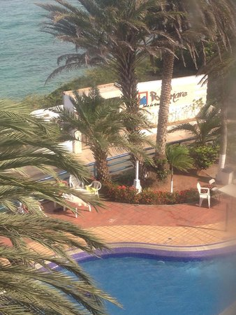 Flamingo Beach Hotel: En la piscina