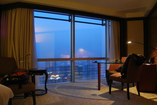 Grand Hyatt Shanghai: Вид из номера