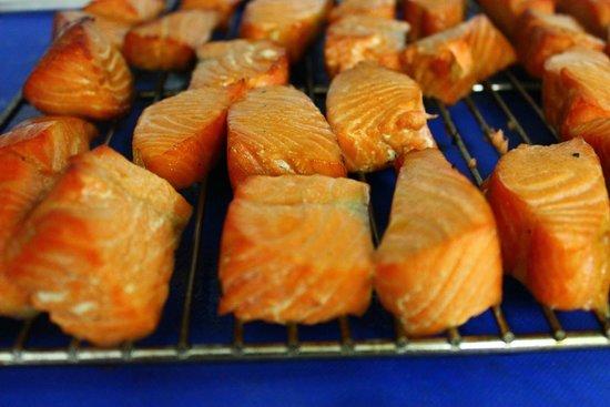 The Cellar Door Restaurant & Cafe: Pinot Smoked Salmon