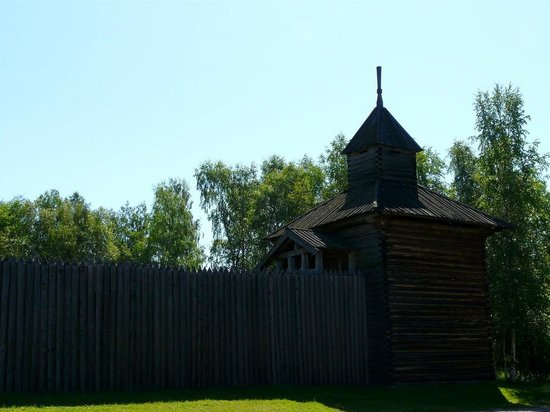 Taltsy Museum: Илимский острог