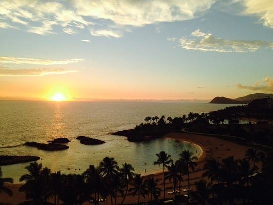 Marriott Ko Olina Beach Club: Great view from our balcony