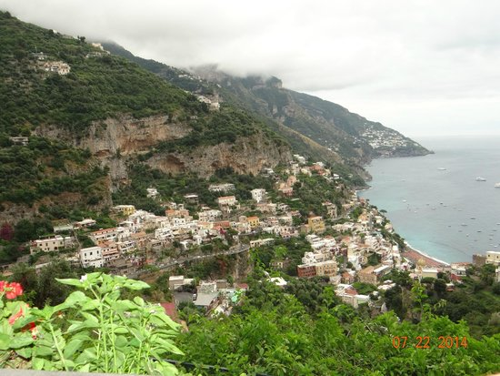 All Around Italy : View from Constantinos in Positano