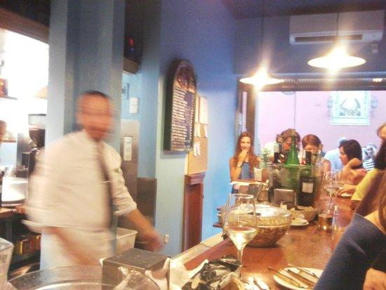 Eslava : best tapas at the bar