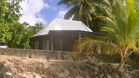Stevenson's at Manase : our fale