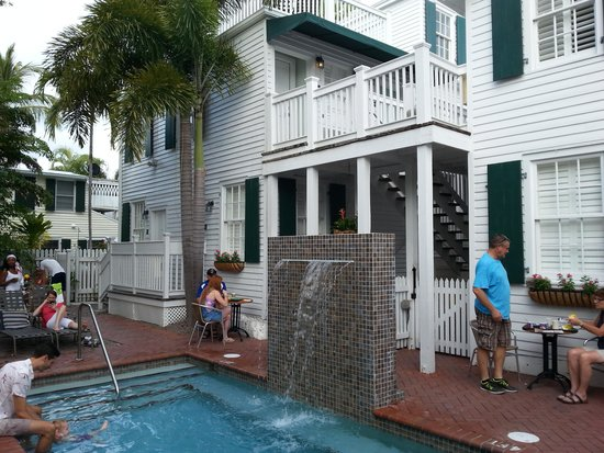 Albury Court Hotel in Key West: Pool Area