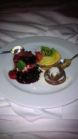 CasaSur Bellini Hotel: El postre de la cena lo comimos en la habitación! un lujo!!