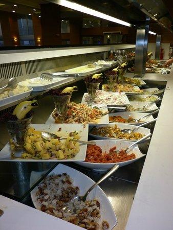 Orka Sunlife Hotel: July 14 - salad bar main restaurant